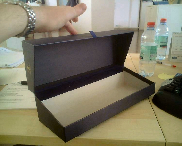 Sloped Hinged Box